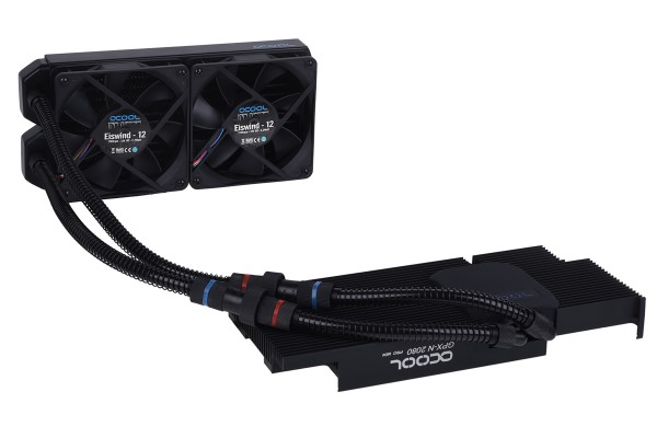 Alphacool Eiswolf 240 GPX Pro Nvidia Geforce RTX 2080 (Super) - Black M04