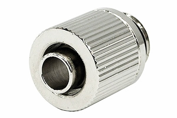 10/8mm (8x1mm) compression fitting outer thread 1/4 - compact - silver