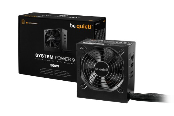 be quiet! System Power 9 500W CM