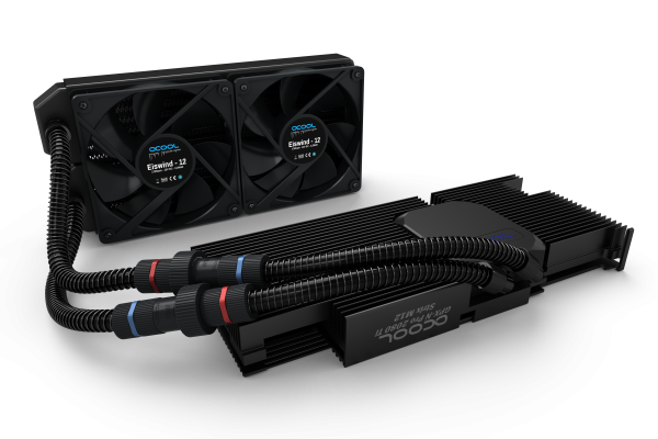Alphacool Eiswolf 240 GPX Pro Nvidia Geforce RTX 2080Ti Strix M12 - Black water cooler