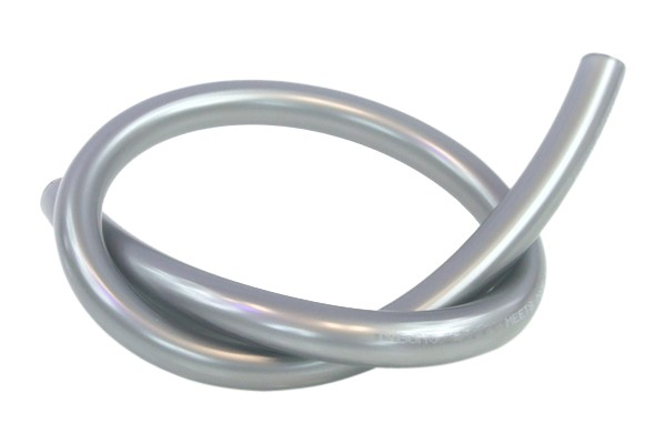 "Tygon tubing 12,7/9,5mm (3/8""ID) silver antimicrobial"
