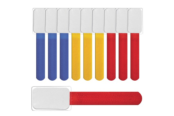 Label The Cable Cable Ties with Labels LTC MINI TAGS, 10 pc, mixed