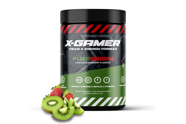 X-Gamer X-Tubz - Gaming Booster FuzzBerry - 600g