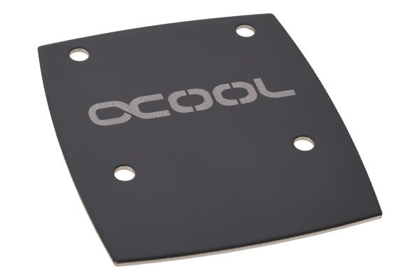 Alphacool NexXxos GPX Solo cover metall - black nickel