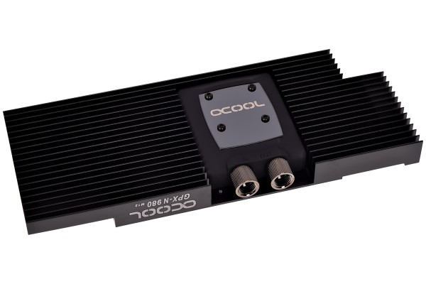 Alphacool NexXxoS GPX - Nvidia Geforce GTX 980 M12 - incl. backplate - black