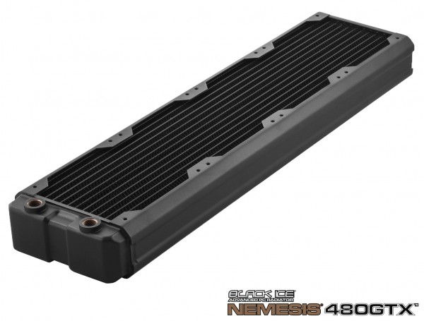 Black Ice Nemesis radiator GTX 480 - black