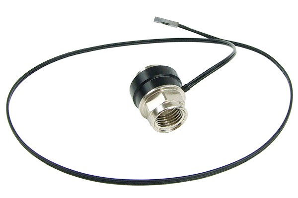 Phobya temperature sensor In-line 2x G1/4 inner thread