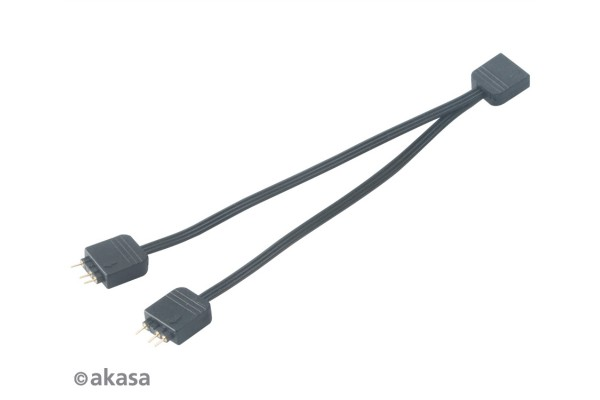 Akasa Addressable RGB LED splitter cable