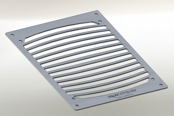 Aquacomputer mounting bracket for airplex modularity system 140, brushed stainless steel