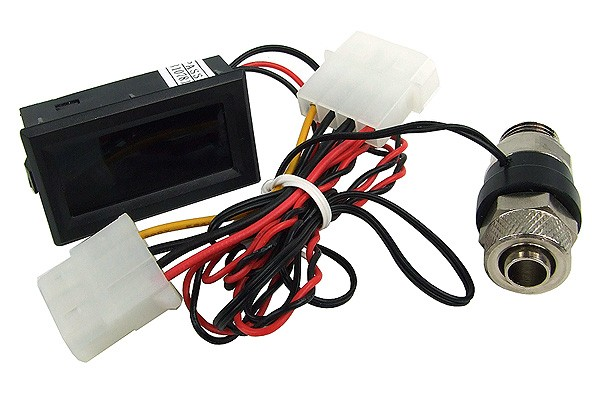 Temperature sensor G1/4 to 10/8mm and 11/8mm with C/F Display