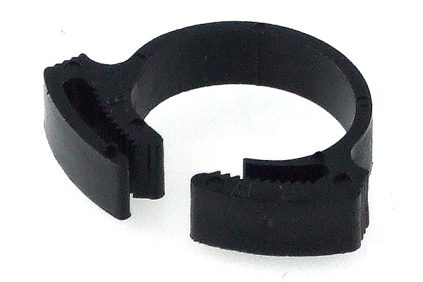 hose clamp 13 - 15mm plastics black