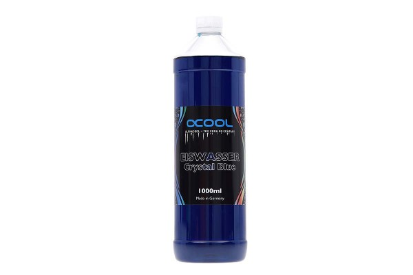 Alphacool Eiswasser Crystal Blue premixed coolant 1000ml