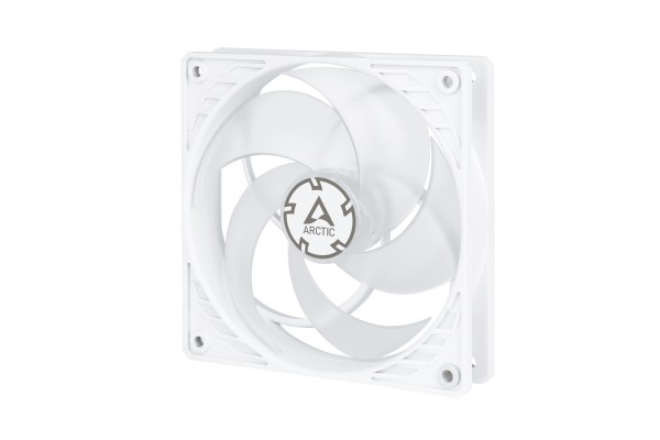 Arctic P12 PWM case fan (120x120x25mm) - white/transparent