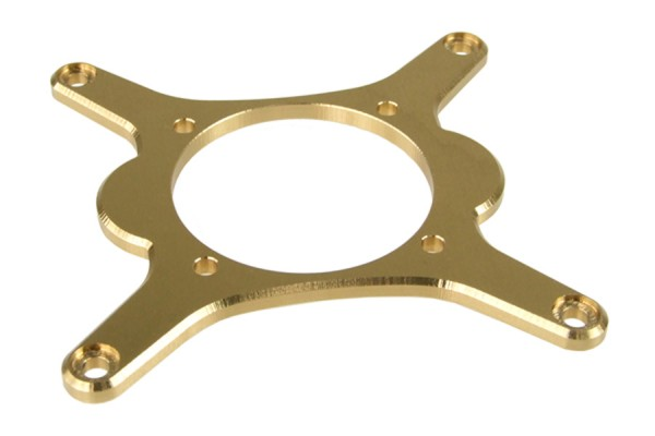 Alphacool Niagara mount socket 1366 brass (lacquer-coated)