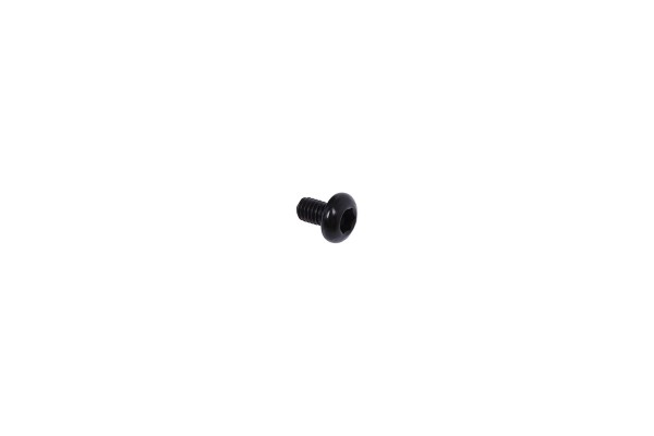 screw ISO 7380 M3 x 6 hexagonal fillister head - matte black