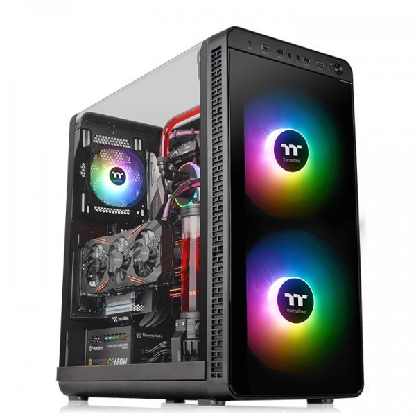 Thermaltake View 37 ARGB Edition Midi-Tower black