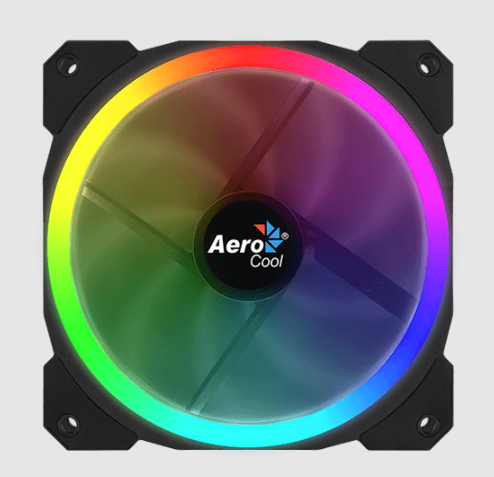 Aerocool Orbit RGB case fan (120x120x25mm)