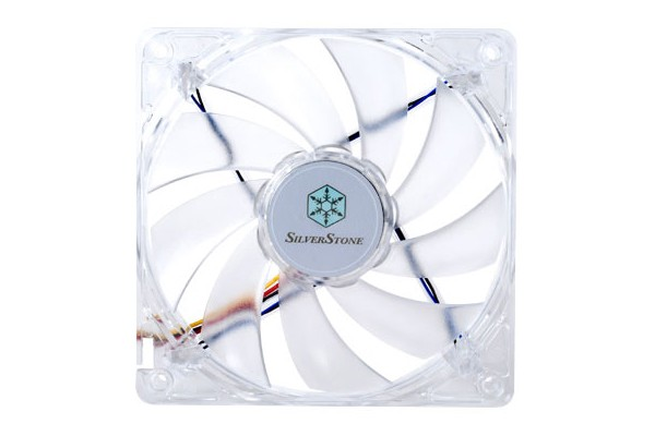 Silverstone 120mm fan SST-FN121-P-WL - White (120x120x25mm)