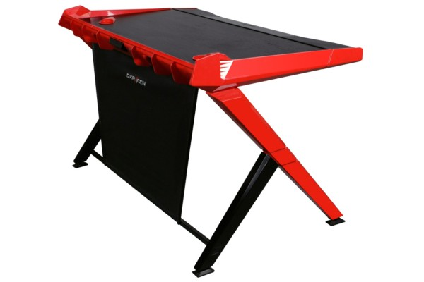 DXRacer Gaming Desk GD/1000/NR gaming desk - black/red