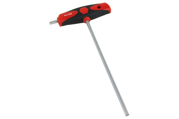 Wiha T-handle screwdriver 4mm with side key