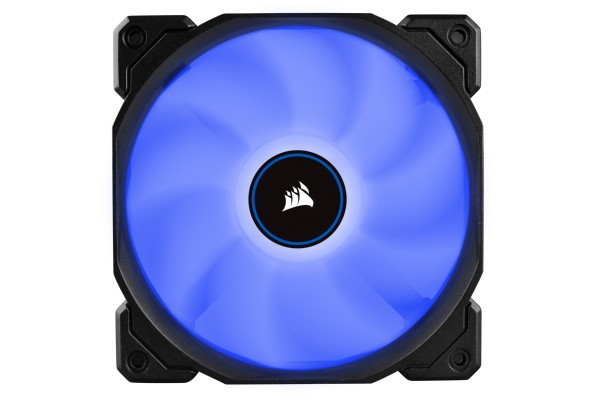 Corsair AF Series AF120 Blue LED 120mm case fan - 3er Pack (120x120x25mm)