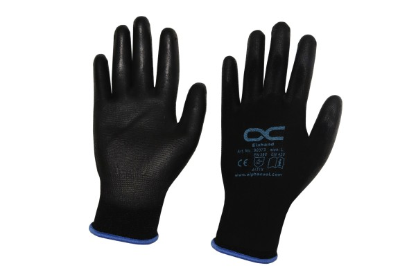 Alphacool Eistools assembly gloves rubberized XL