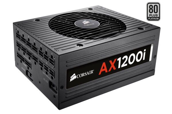 Corsair PC- / Server power supply AX1200i - Platinum - 1.200 W