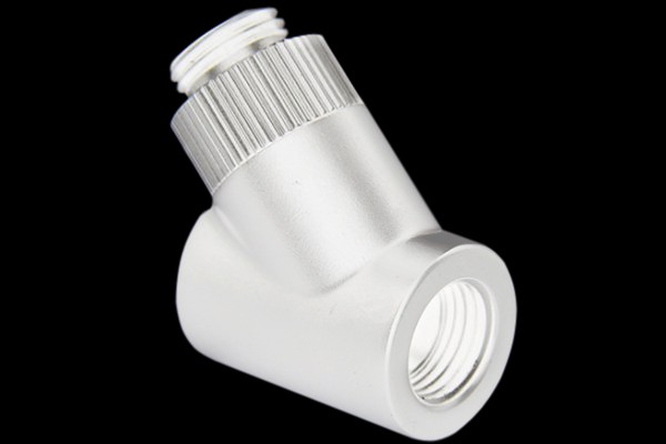"Monsoon 19/13mm (OD 3/4"") Rotary 45° - White"