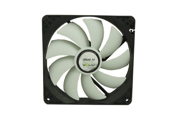 GELID Solutions Silent Pro 14 PWM 1500 RPM 27.8 dBA ( 140x140x25mm )