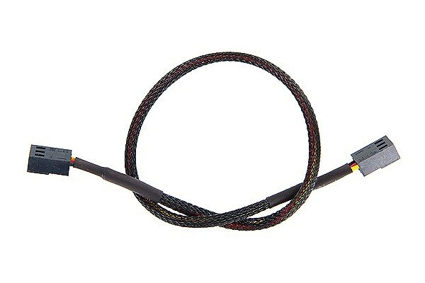ModMyToys 3-Pin male to 3-Pin male Cable Adapter 30cm - Black