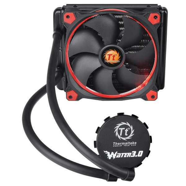 Thermaltake Water 3.0 Riing Red 140 Wasserkühlung All-in-One