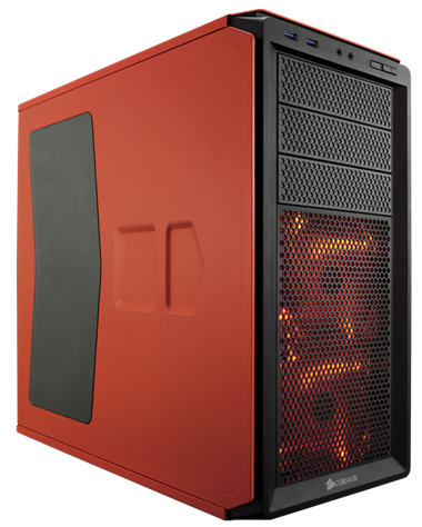 Corsair Graphite 230T window - schwarz/orange