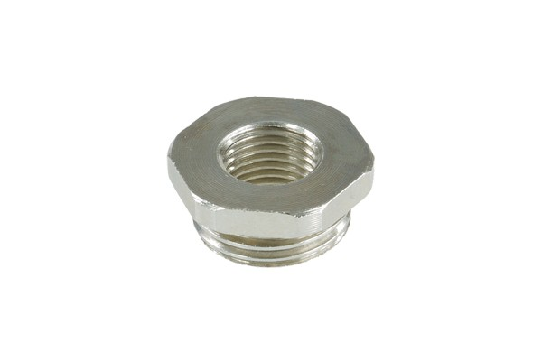 Reducing piece G1/4 to G1/2 outer thread without O-Ring