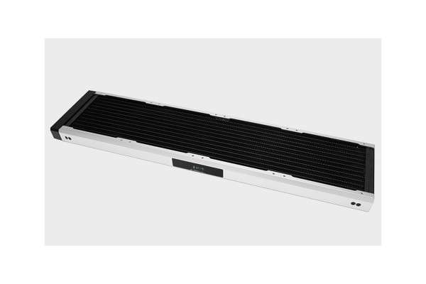 BarrowCH Chameleon Fish series removable 480mm Radiator with display screen POM edition - Matt Silver