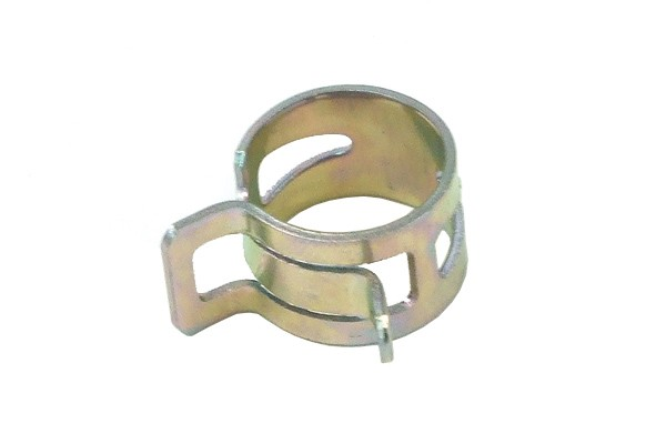 hose clamp spring 15 - 17mm silver