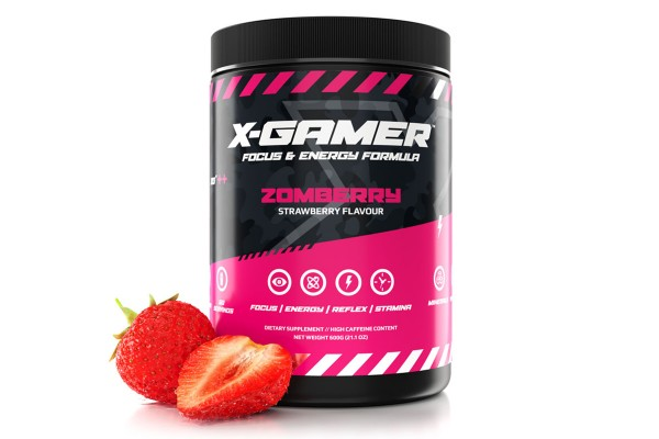 X-Gamer X-Tubz - Gaming Booster Zomberry - 600g
