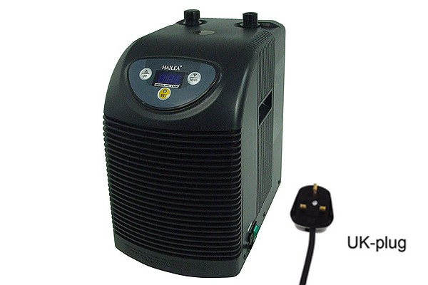 waterchiller Hailea Ultra Titan 150 (HC130=110Watt cooling capacity) - UK Plug