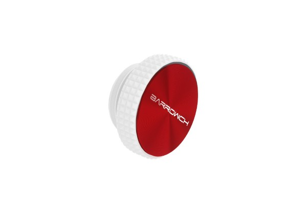 BarrowCH Stop Plug Fitting - White/Red