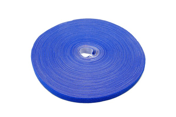 Label The Cable Hook and Loop Tape LTC ROLL STRAP, 82 ft, blue