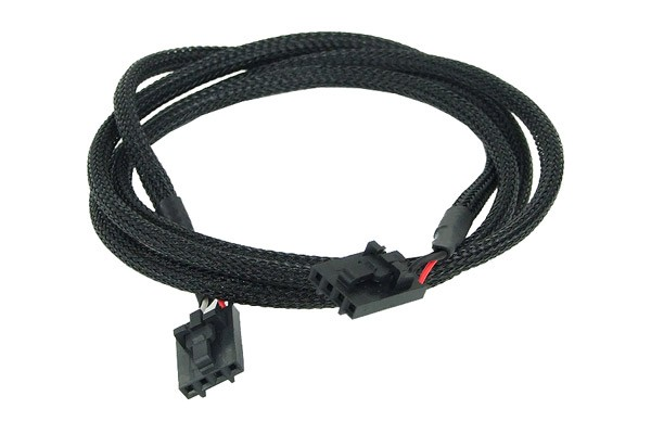 Phobya Audio connection cable 4-Pin 90cm - black