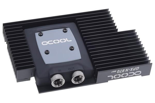 Alphacool NexXxoS GPX - Nvidia Geforce GTX 970 M07 - incl. backplate - black