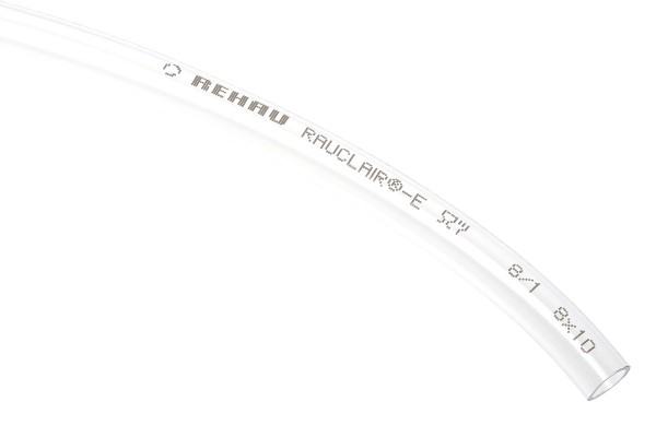 "tubing PVC 10/8mm (5/16""ID) small bending radius clear"