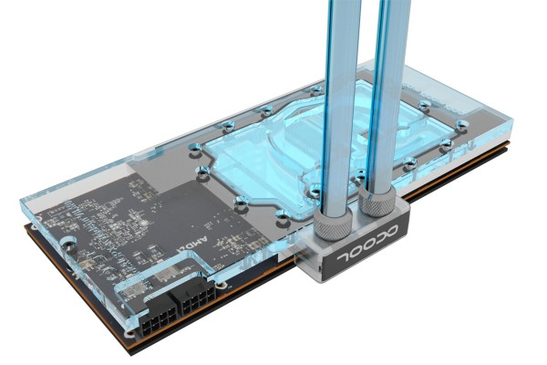 Alphacool Eisblock GPX-A Plexi Light AMD Radeon VII - with backplate