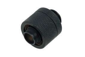 Alphacool 16/10 compression fitting G1/4 - deep black